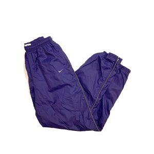 Men's Vintage Purple Nike Parachute Wind Pants